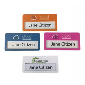 Full Colour Digital Print Name Tag