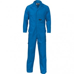DNC Polyester Cotton Coverall - Medium Blue