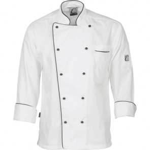 DNC Classic Chef Jacket Unisex- Long Sleeve 200gsm