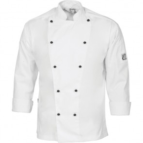 DNC Chefs Cool Breeze Cotton Jacket Unisex - Long Sleeve 190gsm