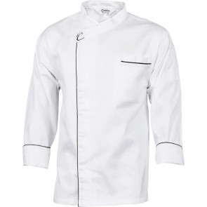 DNC Chefs Unisex Cool Breeze Modern Jacket - Long Sleeve 190gsm