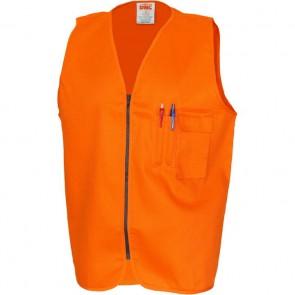 DNC Patron Saint® Hi Vis Flame Retardant Drill ARC Rated Safety Vest