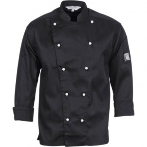 DNC Chefs Three Way Air Flow Jacket Unisex - Long Sleeve 200gsm
