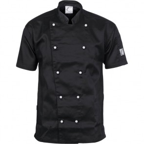 DNC Chefs Three Way Air Flow Jacket Unisex - Short Sleeve 200gsm