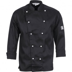 DNC Traditional Chef Jacket Unisex- Long Sleeve 200gsm