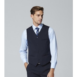 Edward Mens 4 Button Waistcoat - Front