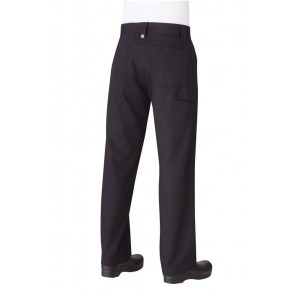 Chef Works Essential Black Chef Pants