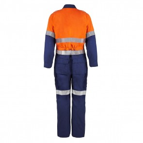 Flame Buster Torrent HRC2 Hi Vis Tow Tone Coverall With Reflective Tape