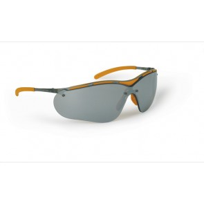 Classic Safety Spectacle Eye Protection - Silver Mirror Lens