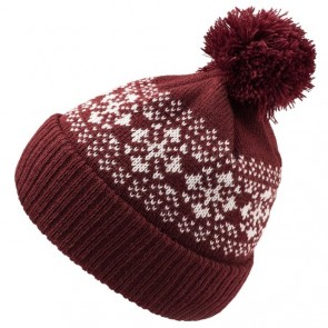 Atlantis Flake Beanie - Burgundy