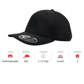 Flexfit Curve Peak - Cap Key