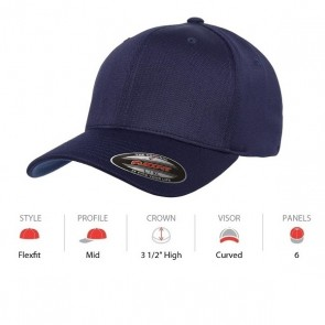 Flexfit Cool & Dry Sports - Navy Cap Key