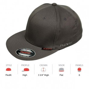 Flexfit Pro Baseball - Black Cap Key
