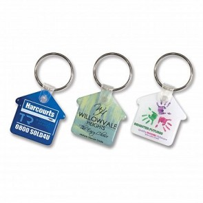 Trend Collection Flexi Resin Key Ring House