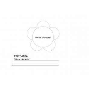 Flower Highlighter Pad Print - Wire Diagram