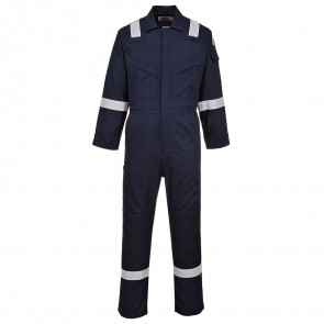 BIzflame Flame Resistant Super Light Weight Anti-Static Coverall