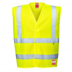 Biz Flame Workwear Hi Vis Anti Static Flame Resistant Vest