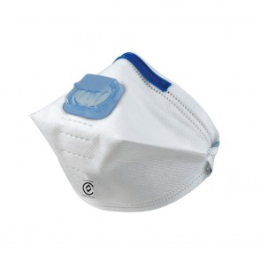 Frontier Disposable Respirator P1 Flat Fold Valved