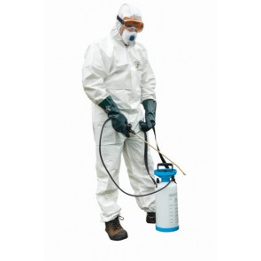 Disposable Coverall White Supersuit Type 4/5/6
