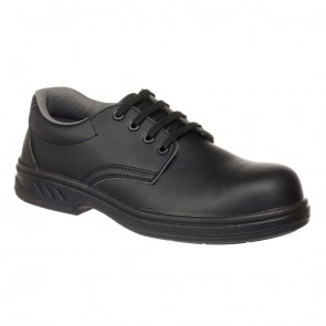 Portwest Laced Safety Shoe S2 - BLACK