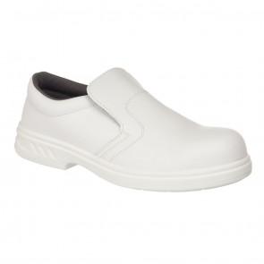 Portwest Slip On Safety Shoe S2 - WHITE