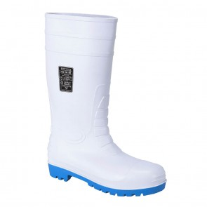 Portwest Total Safety Gumboot S5 WHITE