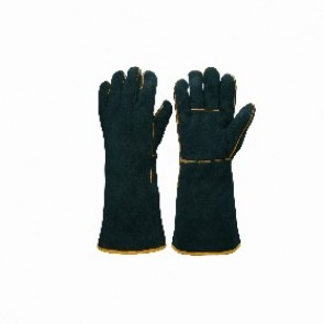 Gauntlet - Black and Gold Welders Glove