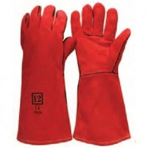 Gauntlet - Red Welders Glove