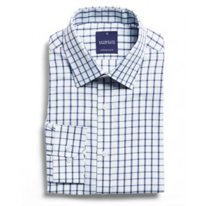 Gloweave Bourke Mens Oxford Check Long Sleeve Shirt