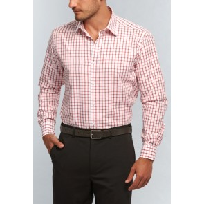 Gloweave Mens Window Pane Check Long Sleeve Shirt