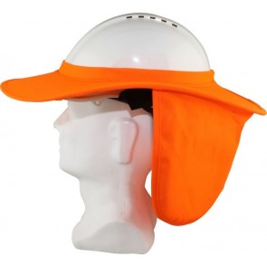 Maxisafe Hard Hat Brim with Neck Flap