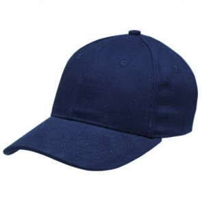 Heavy Brushed Cotton Cap - Navy