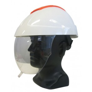 Maxisafe E-MAN 4000 Electricians Helmet with Clear Visor & Chinstrap