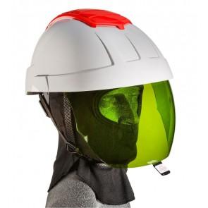 Maxisafe E-MAN 4000 Electricians Helmet with Green IR Visor and FR Balaclava