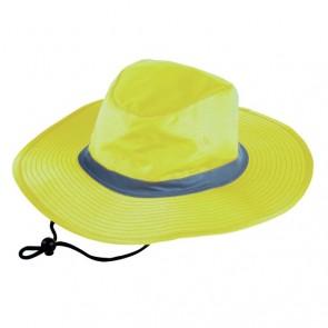 Hi Vis Safety Hat NZ - Yellow