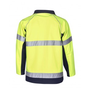 Budget Hi Vis Soft Shell Jacket Day Night 300gsm
