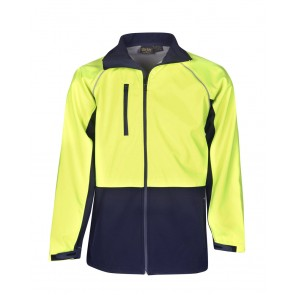 Budget Hi Vis Soft Shell Jacket