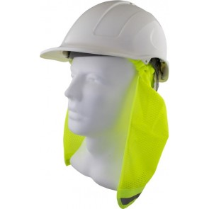 Maxisafe Hard Hat Neck Flap - Yellow