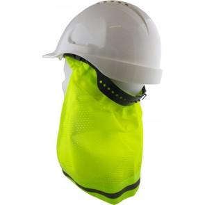 Maxisafe Hard Hat Brim Neck Flap Yellow