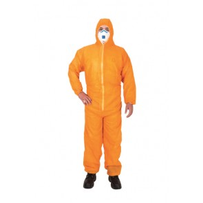 Disposable Coverall Hi Viz Orange
