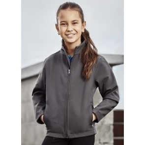 Biz Collection Kids Apex Jacket - Grey Model