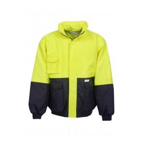 Blue Whale Hi Vis Workmans Artic Jacket