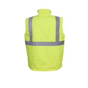 Budget Hi Vis Vest Reversible Day Night 300D