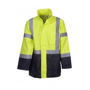 Budget Hi Vis Day/Night Rain Jacket 150D