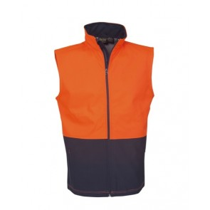 Budget Hi Vis Day Use Only Layered Safety Vest