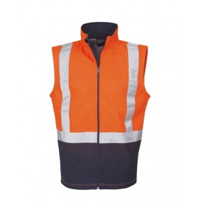 Budget Hi Vis Day Night Soft Shell Vest