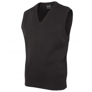 JBs wear Mens Knitted Vest - Black