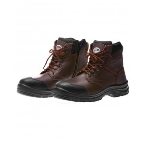 "JB's Wear 5"" Zip Boot - Claret"