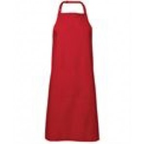 JBs wear BIB Apron with Pocket 86x93cm - Red