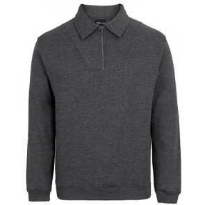 JBs Wear 1/2 Zip Fleecy Sweat